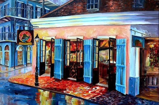 Art: Old Opera House on Bourbon Street - Sold by Artist Diane Millsap