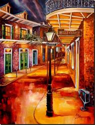 Art: Harry's Corner in New Orleans by Artist Diane Millsap