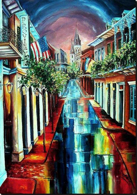 Art: Dreamtime New Orleans - SOLD by Artist Diane Millsap