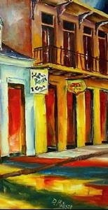 Detail Image for art Colors of Bourbon Street - SOLD
