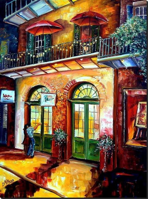 Art: That French Quarter Glow - SOLD by Artist Diane Millsap