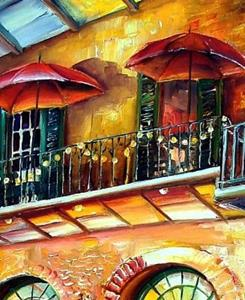 Detail Image for art That French Quarter Glow - SOLD