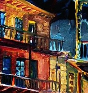Detail Image for art New Orleans Night- SOLD