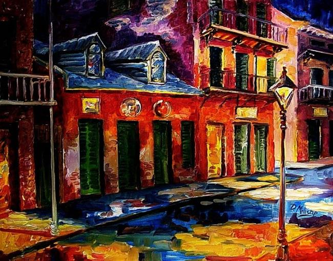 Art: Colors of New Orleans - SOLD by Artist Diane Millsap