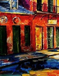 Detail Image for art Colors of New Orleans - SOLD