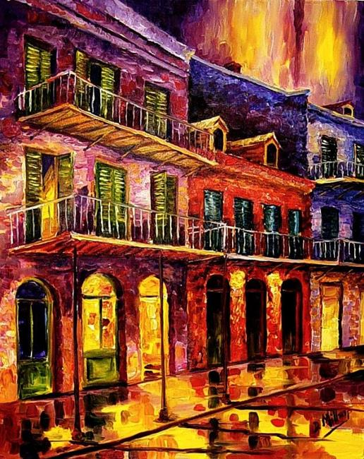 Art: French Quarter Reflections - SOLD by Artist Diane Millsap