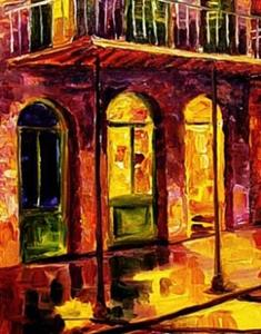 Detail Image for art French Quarter Reflections - SOLD