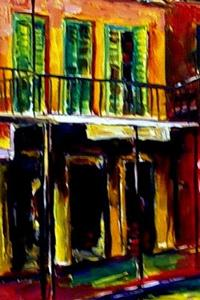 Detail Image for art Lively Vieux Carre - SOLD