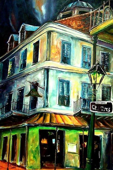Art: Napoleon House - SOLD by Artist Diane Millsap