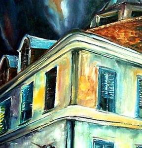 Detail Image for art Napoleon House - SOLD