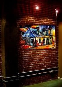 Detail Image for art La Fitte's Blacksmith Shop - SOLD
