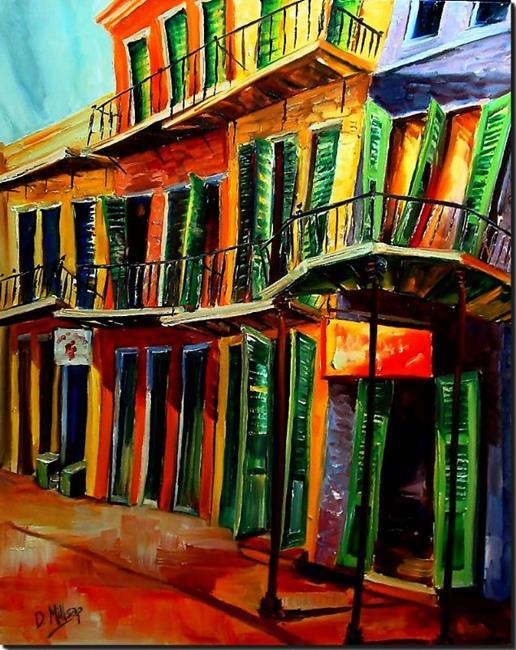 Art: New Orleans Boogie - SOLD by Artist Diane Millsap