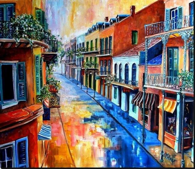 Art: Big Easy Sunshine - SOLD by Artist Diane Millsap