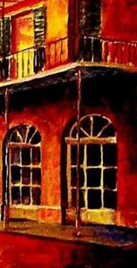 Detail Image for art French Quarter Night - SOLD