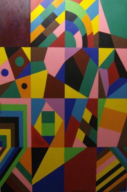 Art: NIGHT JOURNEY - 7 by Artist Moshiur Rahman