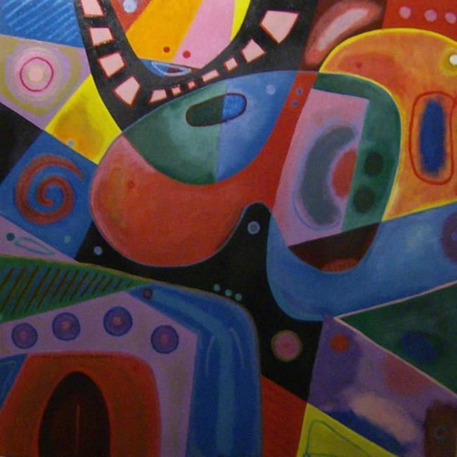 Art: THE OCCUPANTS OF THE GALLERY by Artist Moshiur Rahman