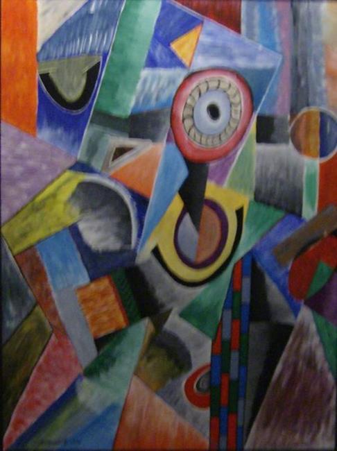 Art: THE ONE EYED MAN by Artist Moshiur Rahman