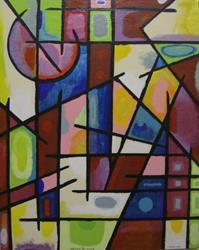 Art: I MISS YOU-2, PRICE US$1200.00 by Artist Moshiur Rahman