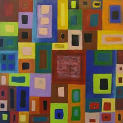 Art: POINT OF VIEW - 1, PRICE US$450.00 by Artist Moshiur Rahman
