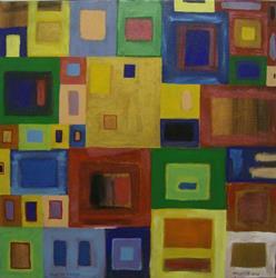 Art: POINT OF VIEW-2, PRICE US$275.00 by Artist Moshiur Rahman