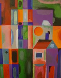 Art: DOLL HOUSE by Artist Moshiur Rahman