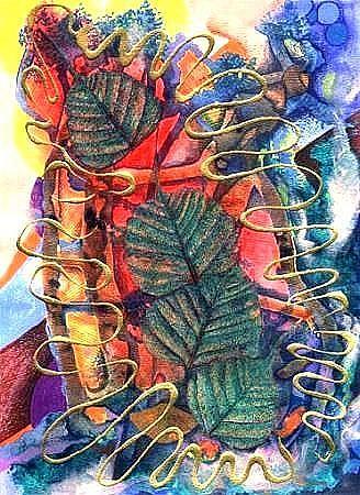 Art: Through to Summer by Artist Christine Wasankari