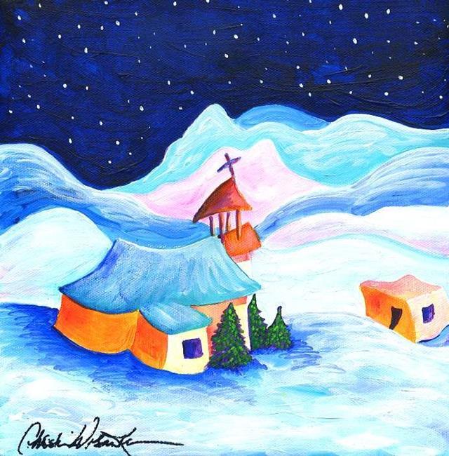 Art: Winter's Light by Artist Christine Wasankari