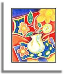 Art: Happy Series ~ 4  by Artist Christine Wasankari