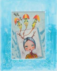 Art: Elfin Origins-Sold by Artist Sherry Key