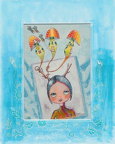Art: Elfin Origins-Sold by Artist Sherry Key