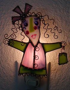 Detail Image for art Winny Wanamaker Night Light