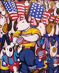 Art: 4th of July     by Artist Nikki Davidson Moor