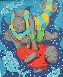 Art: Qualitee Time by Artist Nikki Davidson Moor
