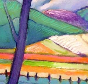 Detail Image for art Fields & Hills