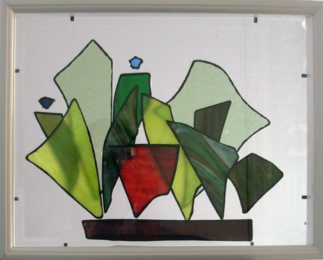 Art: Window Box by Artist Elizabeth Fiedel