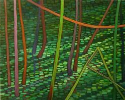 Art: Splinters by Artist Elizabeth Fiedel