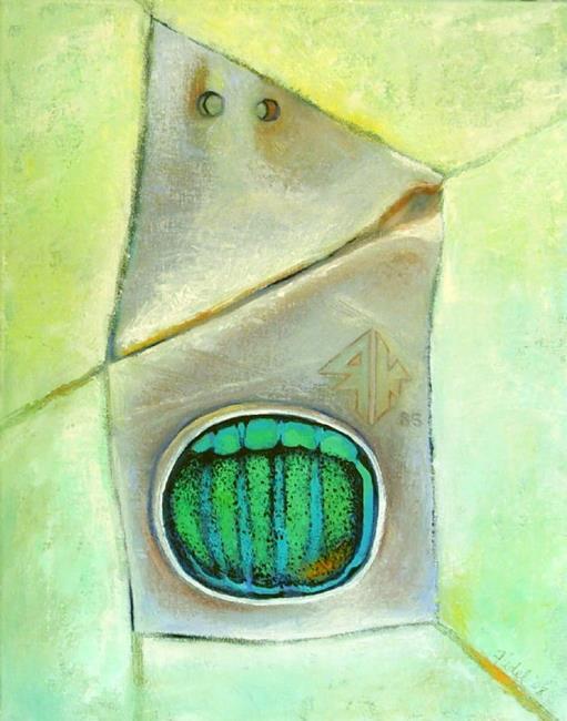 Art: Idol of the Seven Seas by Artist Elizabeth Fiedel