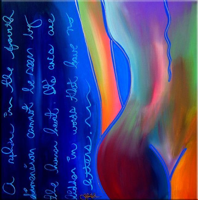 Art: The Fourth Dimension - Nude 51 by Artist Thomas C. Fedro