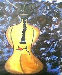 Art: CELLO~ Sold! by Artist Melody Cole Gates