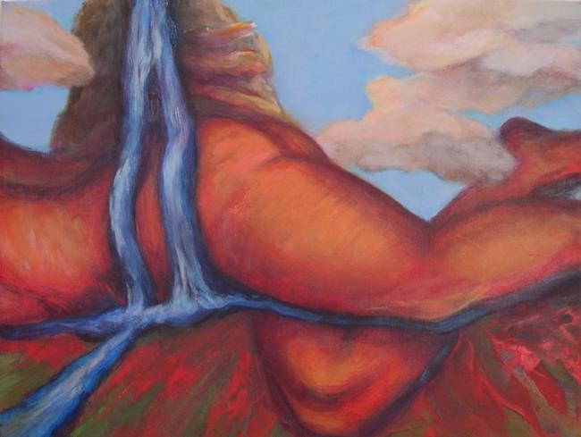 Art: Mythic Woman #3 by Artist Virginia Ann Zuelsdorf