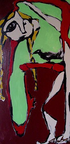 Art: Celibacy by Artist Kelli Ann Dubay