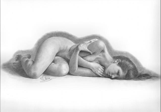 Art: Natural Slumber by Artist Karen Townsend