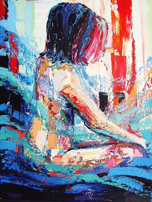 Art: Scream of the Butterfly by Artist Aja