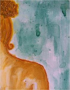 Detail Image for art Watercolor Nude