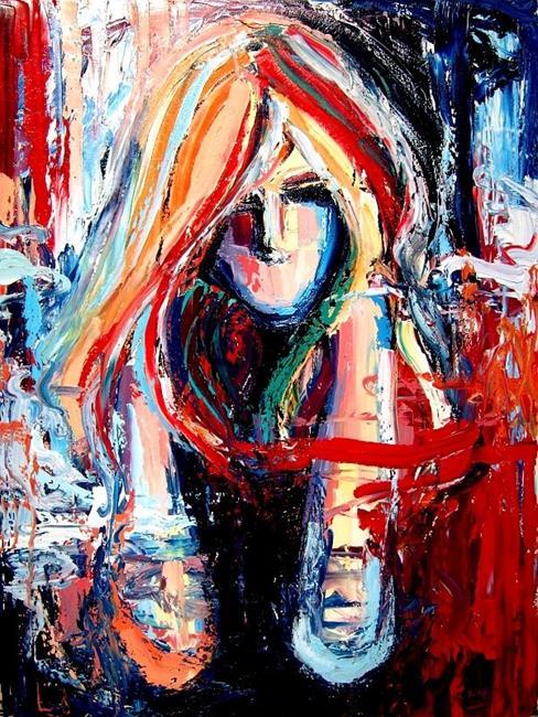 Art: Stranglehold by Artist Aja