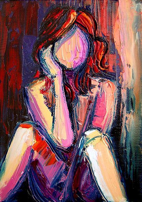 Art: Jezebel by Artist Aja