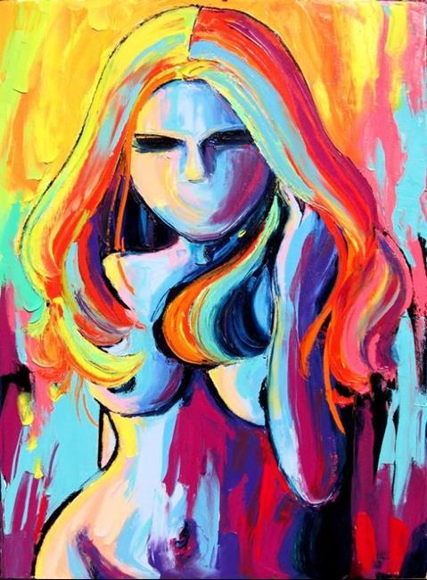 Art: Fire Starter by Artist Aja