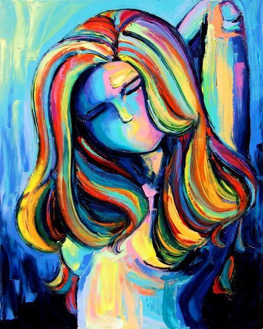 Art: Linger by Artist Aja