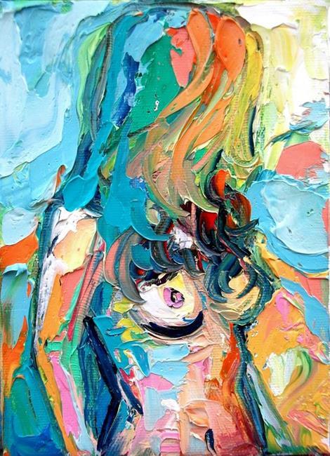 Art: Femme 34 by Artist Aja
