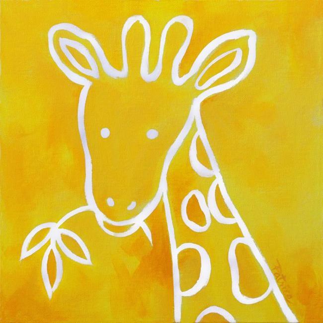 Art: Gerome Giraffe by Artist Patricia  Lee Christensen